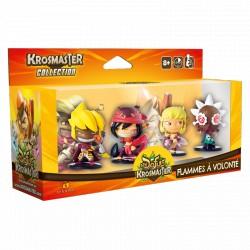 Krosmaster Arena - Pack de 4 figurines Saison 1 - Flammes à volonté