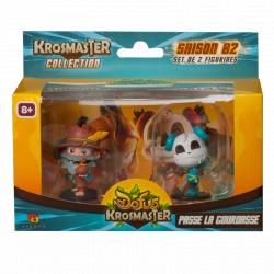 Krosmaster Arena - Pack de 2 figurines Saison 2 - Passe la Gourdasse