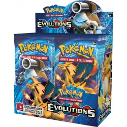 Display de 36 Booster Pokémon XY Evolutions
