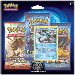Pack Pokemon XY - Evolution - Kyurem Noir