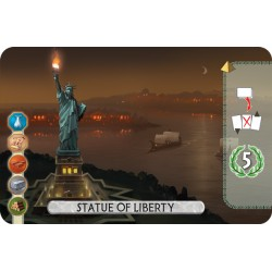 7 Wonders Duel - Statue of liberty