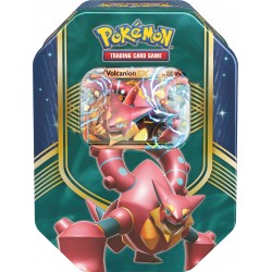 Pokebox Boîte Métal Noël 2016 - Pokemon Volcanion Ex
