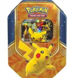 Pokebox Boîte Métal Noël 2016 - Pokemon Pikachu Ex - 2ème Edition