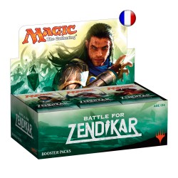 Magic the Gathering : La Bataille de Zendikar - Boite de 36 Boosters