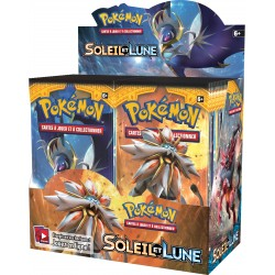 Display de 36 Booster Pokémon Soleil et Lune