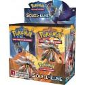 Display de 36 Booster Pokémon Soleil et Lune