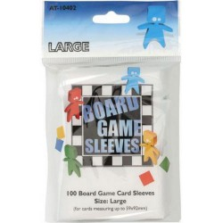 Board Game Sleeves x 100 - Large 59 x 92 mm