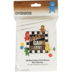 Board Game Sleeves x 100 - Oversize 79 x 120 mm
