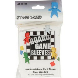 Board Game Sleeves x 100 - Standard 63 x 88 mm