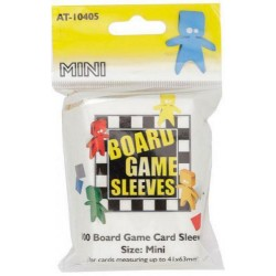 Board Game Sleeves x 100 - Mini 41 x 63 mm