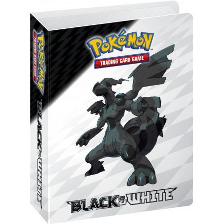 Mini Album Portfolio Pokémon - Noir et Blanc