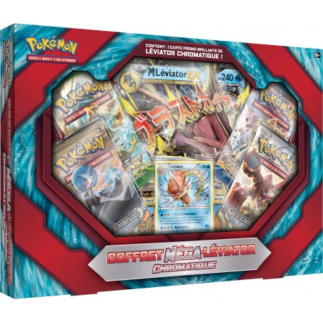 Coffret Pokemon - Méga Léviator Chromatique