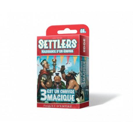 Settlers - 3 est un chiffre magique