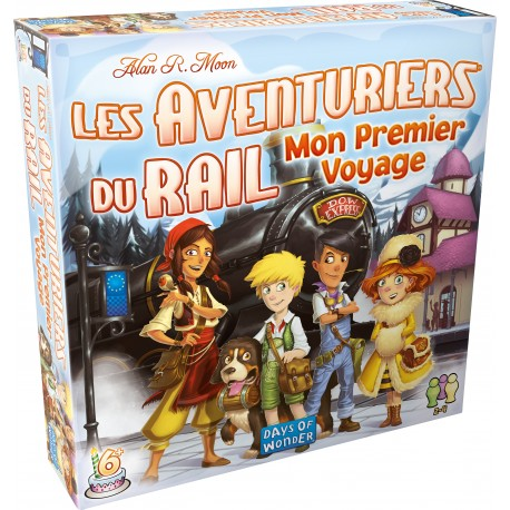 Les Aventuriers du rails - Europe - Mon Premier Voyage