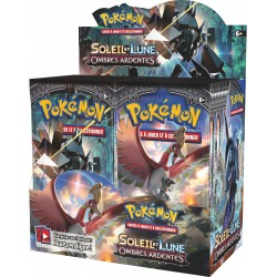Display de 36 Booster Pokémon Soleil et Lune 3 - Ombres Ardentes