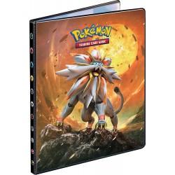 Cahier range-cartes - Portfolio Pokémon Soleil et Lune - A4