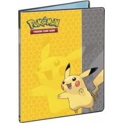 Cahier range-cartes - Portfolio Pokémon Pikachu - A4