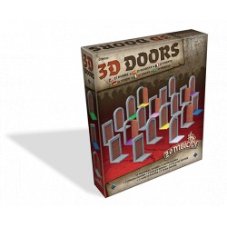 Zombicide Black Plague - Set de portes 3D - 3D Doors Pack