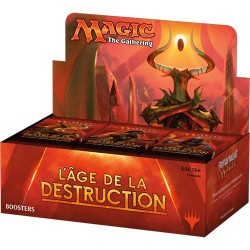Magic the Gathering : Age de la Destruction - Boite de 36 Boosters