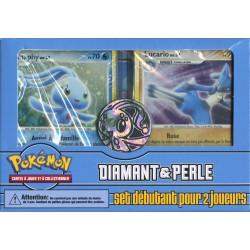 Pokemon Diamant & Perle - Kit du dresseur - Set Débutant