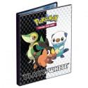 Cahier range-cartes - Portfolio Pokémon Noir & Blanc - A5