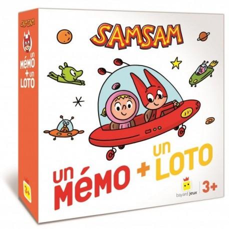 SamSam - Un mémo + un loto