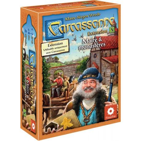 Carcassonne - Extension 5 - Maire & Monastères