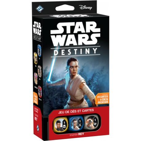 Star Wars - Destiny - Starter Rey
