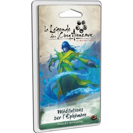 La Légende des Cinq Anneaux - JCE - Méditations sur l'Éphémère