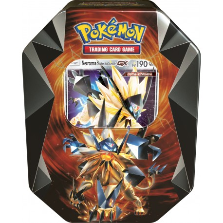 pokebox bo te m tal p ques 2018 pokemon necrozma gx. Black Bedroom Furniture Sets. Home Design Ideas