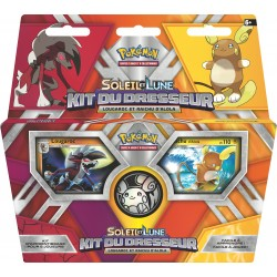 Pokemon SL - Kit du dresseur - Lougaroc et Raichu d'Alola