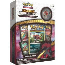 Coffret Pokémon Pins SL 3.5 Légendes Brillantes - Zoroark VF