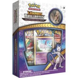 Coffret Pokémon Pins SL 3.5 Légendes Brillantes - Mewtwo VF