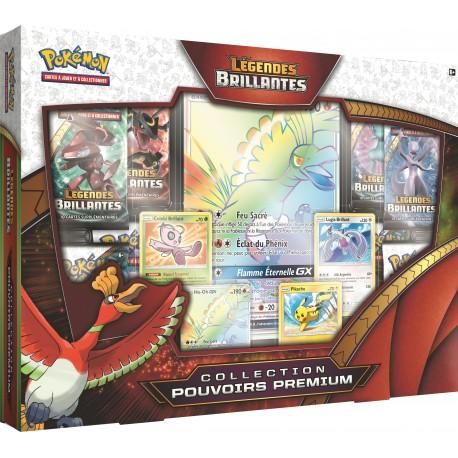 Coffret Pokémon SL 3.5 Légendes Brillantes - Pouvoirs Premium - Ho-Oh-GX VF