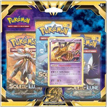 Pack de 3 boosters Pokémon SL01 - Giratina