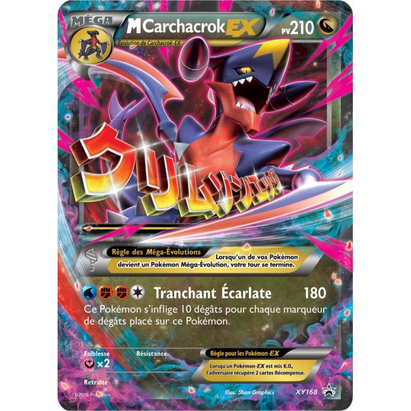 Coffret pokemon noel 2017 coffret m ga carchacrok ex - Mega carchacroc ...