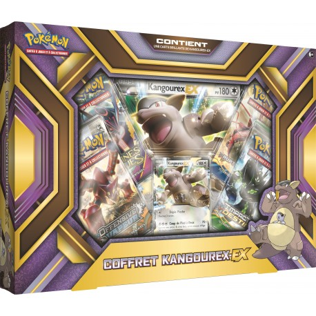 Coffret Pokemon EX - Coffret Kangourex-EX