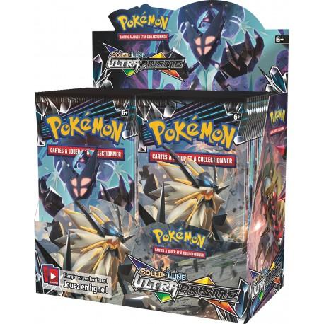 Display de 36 Booster Pokémon Soleil et Lune 5 - Ultra Prisme