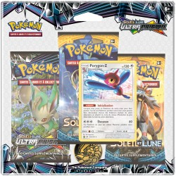 Pack Pokémon Soleil et Lune 5 - Ultra Prisme - Porygon-Z