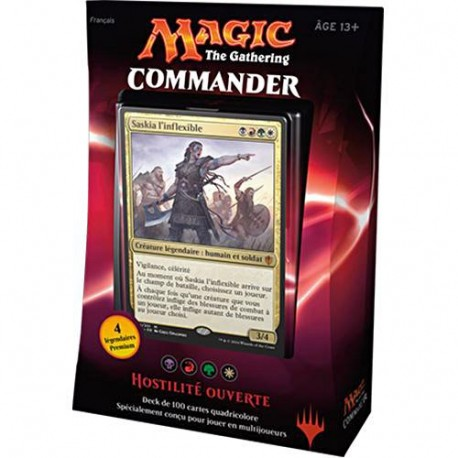 Magic the Gathering : Commander 2016 - Hostilité Ouverte
