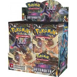 Display de 36 Boosters Pokémon Soleil et Lune 6 - Lumière Interdite