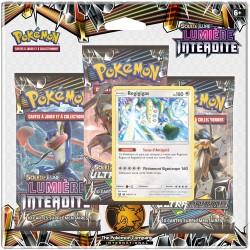 Pack Pokémon Soleil et Lune 6 - Lumière Interdite - Regigigas