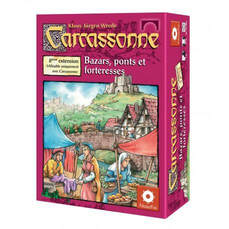Carcassonne - Bazar, ponts et marchés - Extension 8 - Jeux de societe