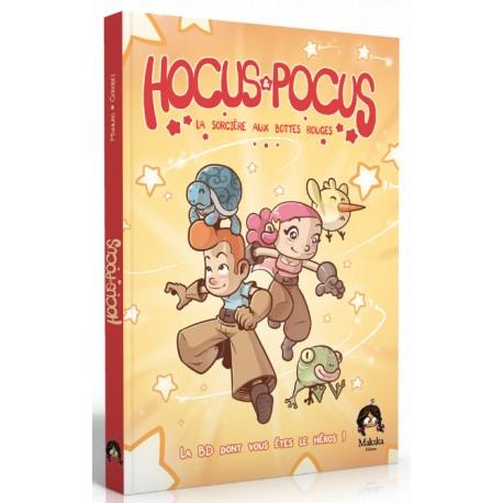 Hocus Pocus - L'épreuve des Fabulins – La BD dont vous êtes le héros