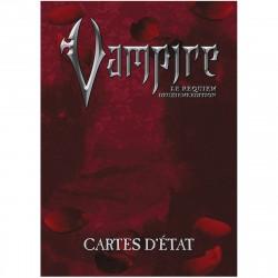 Vampire - Le Requiem - 2ème édition - Cartes d'états