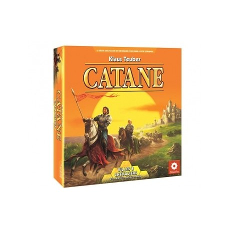 Catane - Villes & Chevaliers - Jeux de societe