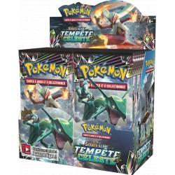 Display de 36 Boosters Pokémon Soleil et Lune 7 - Tempête Céleste
