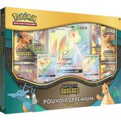 Coffret Pokémon SL 7.5 Majesté des Dragons - Pouvoirs Premium - Dracolosse Arc-en-ciel