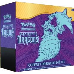 Coffret Pokémon Dresseur d'Elite SL 7.5 - Majesté des Dragons