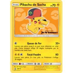 Pokémon Carte Pikachu de Sacha - Pokémon le film Je te choisis !
